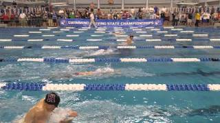 2016 uil 5a state mens 100 breast a finals