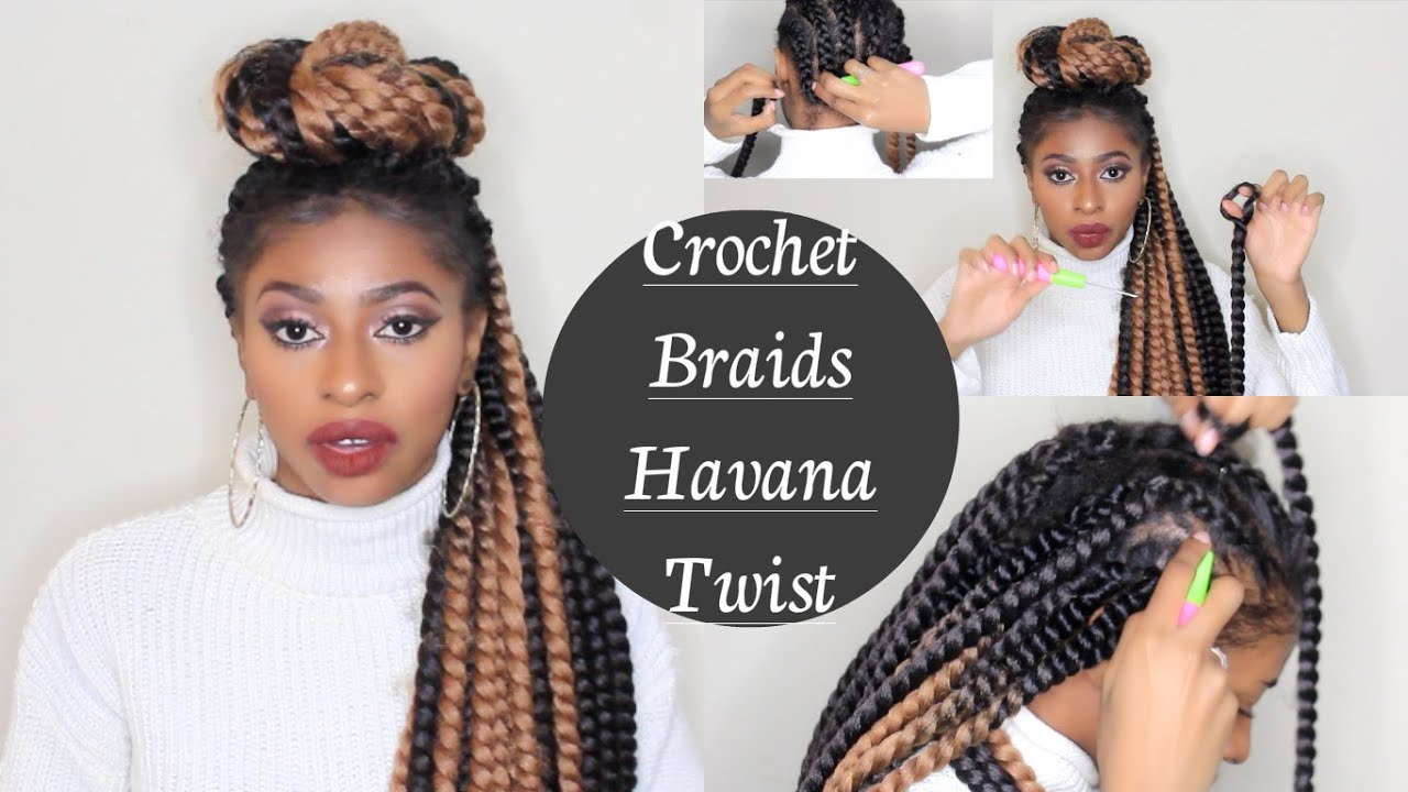 crochet braids havana twist nouvelle methode facile de tresses explication demo youtube. Black Bedroom Furniture Sets. Home Design Ideas