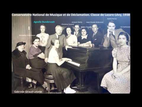 Agnelle Bundervoët plays Schumann Intermezzi op. 4