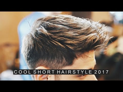 Men's Hairstyle 2017 | Short Men's Hair | Casual Cool Hairstyle