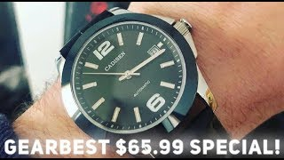 The $65 Automatic Watch From GearBest - CADISEN AUTOMATIC!