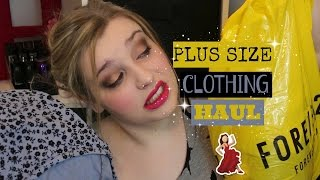 Summer Plus Size Try On Clothing Haul | Forever 21, Old Navy, H&M