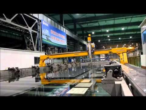 Система УЗК крупногабаритных плит из алюминиевых сплавов (производство ScanMaster Systems Ltd.)