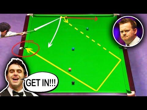 LUCKY SHOTS!!! Snooker MEGA FLUKES Compilation