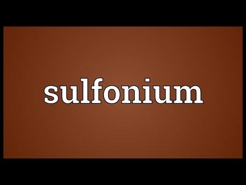 Header of sulfonium