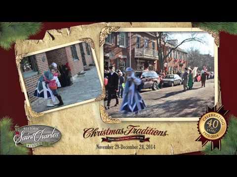 Saint Charles Christmas Traditions Santa Parade
