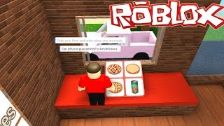 Roblox / Work at a Pizza Place / Working The Drive - Thru / Gamer Chad Plays