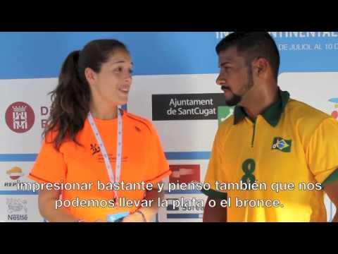 Entrevista a Yurig Ribeiro jugador de Brasil - Interview 29th