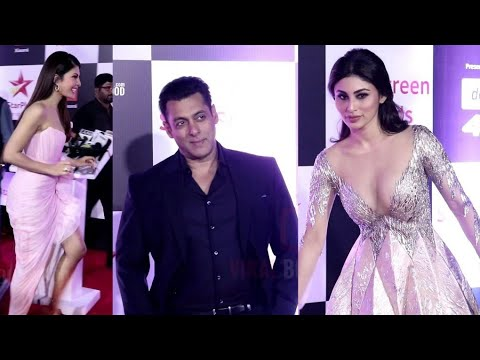 Salman Khan, Mouni Roy, Jacqueline At Star Screen Awards 2018