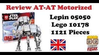 Review AT-AT motorized - Lepin 05050 - Lego 10178 English
