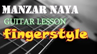 MANZAR NAYA (ROCK ON 2) Accurate Fingerstyle Guitar Lesson