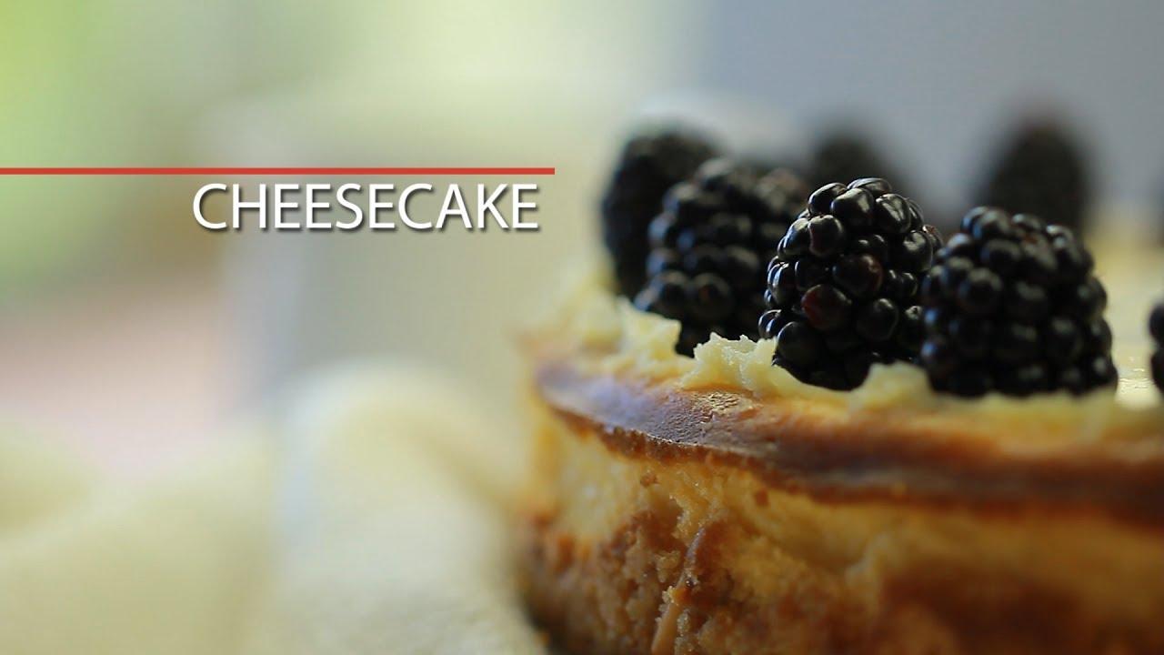 New York-Style Cheesecake - sweet dessert