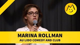 Marina Rollman au Lido Comedy and Club