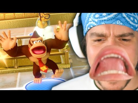 Mario Party got VERY aggressive - w/ The boys