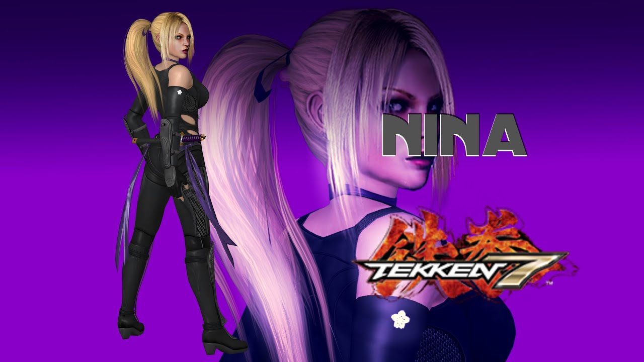 Tekken 7 New Character Nina Williams Youtube