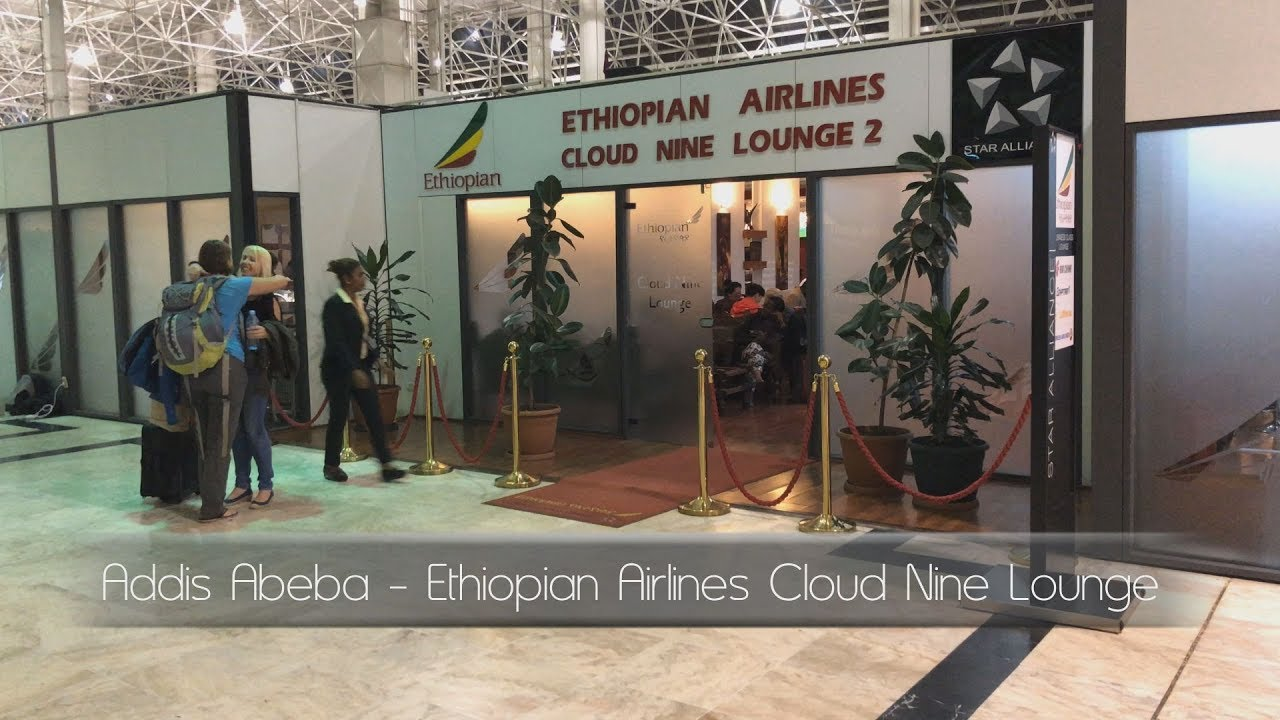 Addis Abeba - Ethiopian Airlines Cloud Nine Lounge