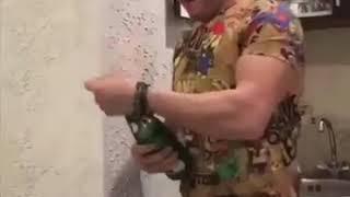 ŞAMPANYA ACARKEN RUS Vuran Masum Bahadırın Videosu IYI BAYRAMLAR