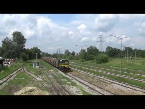 "Railway transport of Coal basen ""Kolubara"", Vreoci, Serbia."