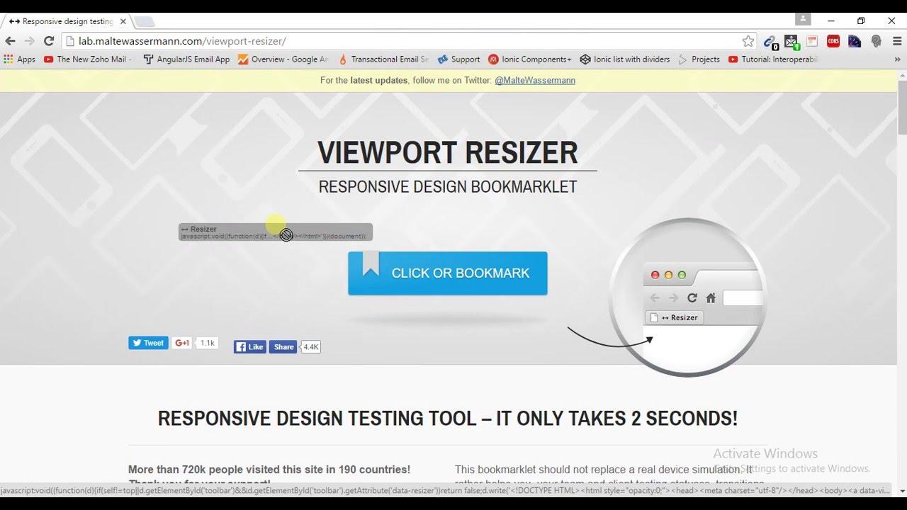 Responsive Design testing Tool - YouTube