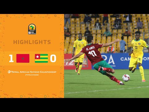 HIGHLIGHTS   Total CHAN 2020   Round 1 - Group C: Morocco 1-0 Togo