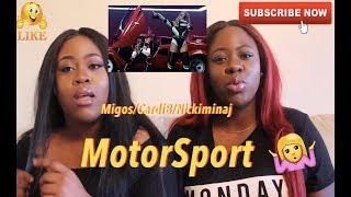 Migos, Cardi B, Nicki minaj - Motorsport - REACTION