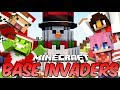 The Most FRUSTRATING Bases   Minecraft Base Invaders Challenge