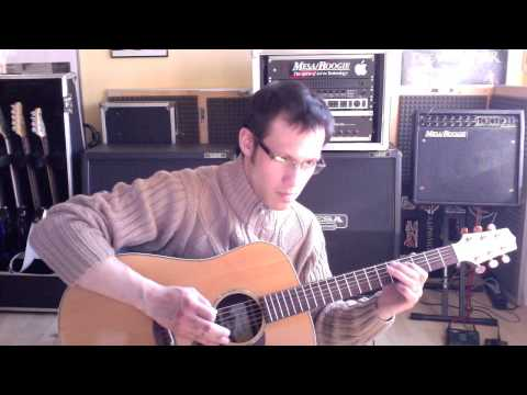 AFFECTOR - Harmagedon New Jerusalem (acoustic version) guitar lesson by Daniel Fries