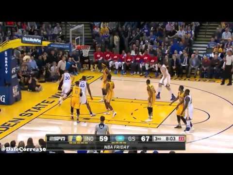 Stephen Curry Gamme 44 vs. Pacers [2015-2016 Regular Season]