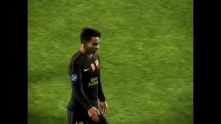 PES 2012 UEFA Champions League Group Stage S.S.C Napoli VS F.C Barcelona