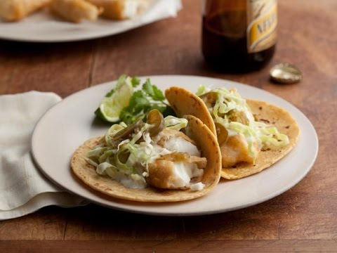 How To Make Baja Style Fish Tacos | Food Network
