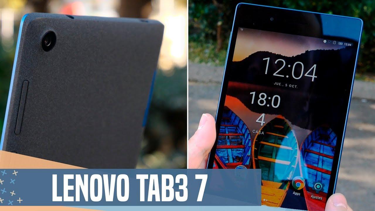 Lenovo Tab3 7 Essential, review en español