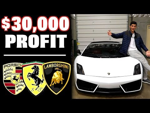 How We Made $30,000 Profit Flipping Our Dream Cars!