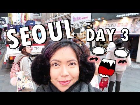 SEOUL DAY 3! (Grevin Museum, Tteok Bokki Buffet, Dashing Diva, PORK BELLY!) Dec. 8, 2017 - saytioco