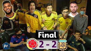 Colombia 2 Argentina 2 🔥 Eliminatorias Qatar 2022 Conmebol 😱 Reacciones Amigos 🔥 Club de la Ironía