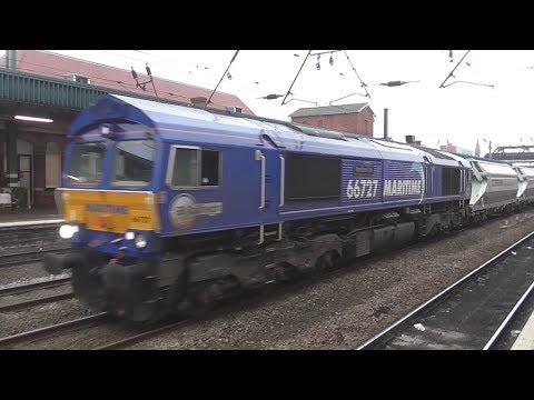 Trains at Doncaster, ECML | 11/01/2018