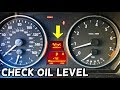 HOW TO CHECK OIL LEVEL ON BMW 325i 328i 330i 325xi 328xi