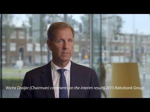 Wiebe Draijer (CEO) comments on the interim results 2015 Rabobank Group