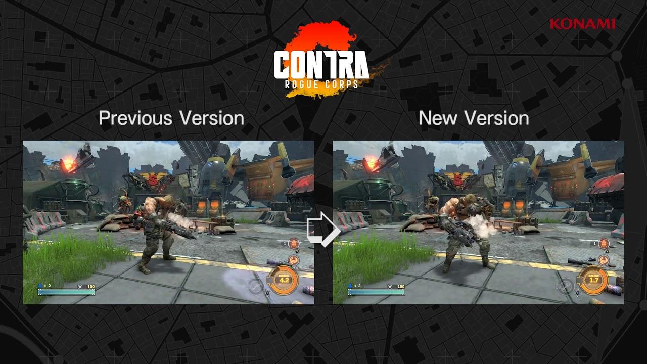 Νέο update για το Contra: Rogue Corps