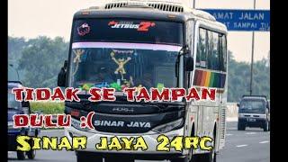 Bus yg pernah VIRAL SINAR JAYA 24rc ..