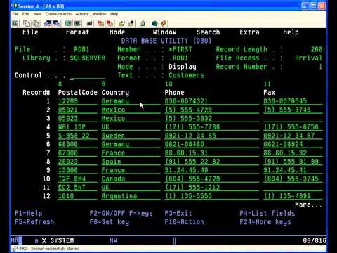 Access Remote Data On Your Ibm As400 Iseries With Dbu Database