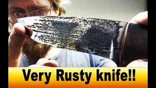 Restoring A Rusty Knife