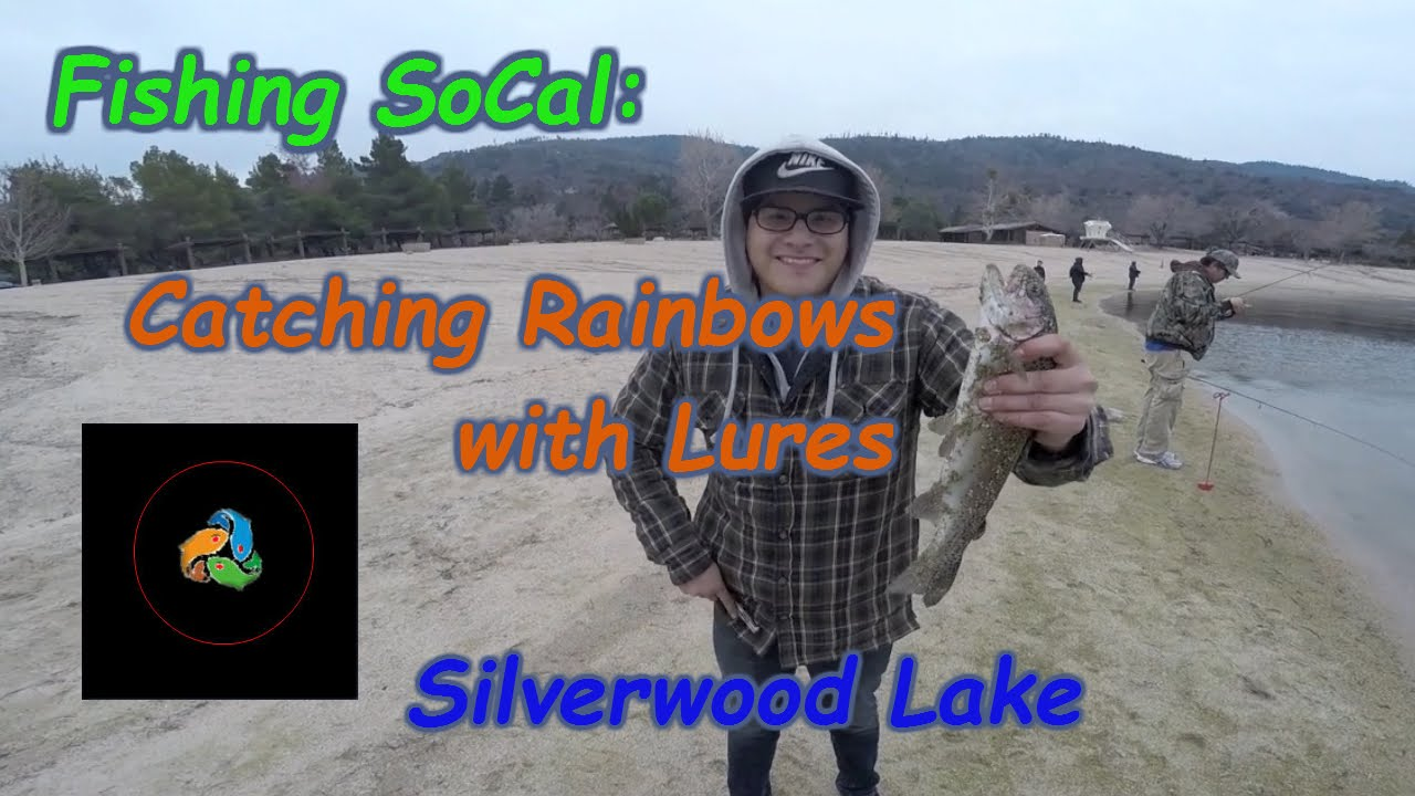 Trout fishing with lures at silverwood lake for Silverwood lake fishing report