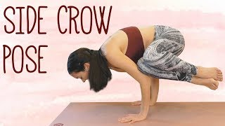 Power Yoga Workout & Side Crow Tutorial | Beginner Modifications for Advanced Power Pose!