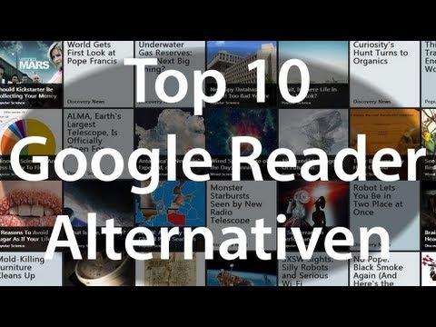 Top 10 Google Reader Alternativen