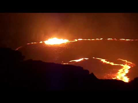 Danakil Depression, Erta Ale volcano tour