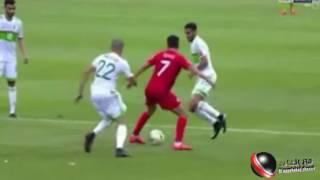 ملخص لقاء الجزائر تونس في can 2017 بالغابون بتعليق عصام الشوالي