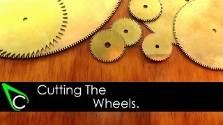 How To Make A Clock In The Home Machine Shop - Part 4 - Cutting The Wheels