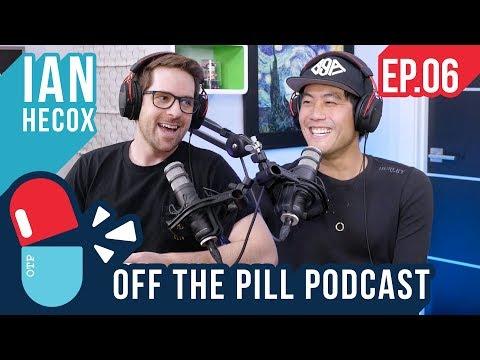 Off The Pill Podcast #6 - (Ft. Ian Hecox) -Smosh vs Defy Media, RiceGum Challenges & Ian's Fan Story
