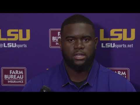 LSU Offensive Tackle Toby Weathersby Talks Hurricane Harvey