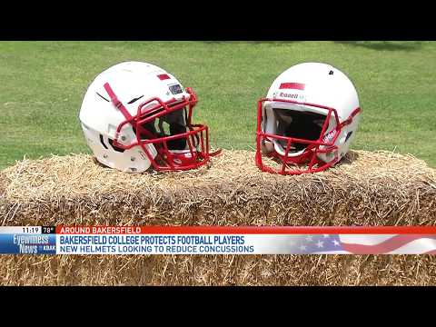 Bakersfield College gets new football helmets for player safety